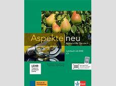 Aspekte neu C1: Lehrbuch mit DVD   Klett Sprachen Lehrbuch Englisch