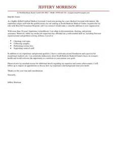 assistant cover letter exles for healthcare