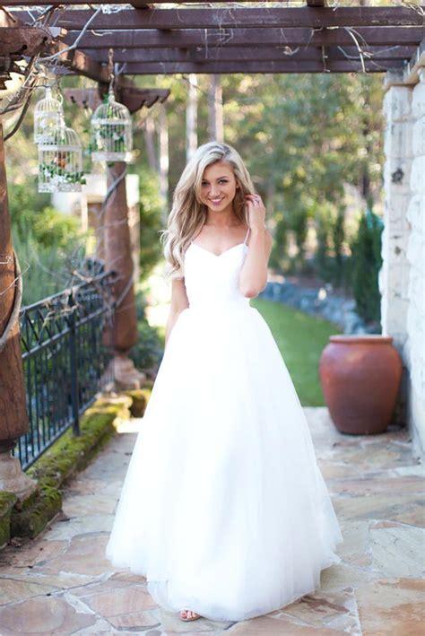 Spaghetti Tulle Dress spaghetti tulle summer wedding dress new arrival
