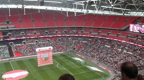 where is my seat my seat from the top of wembley block 501