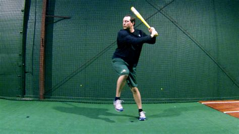 swing hitter should a hitter get his front foot down early when hitting