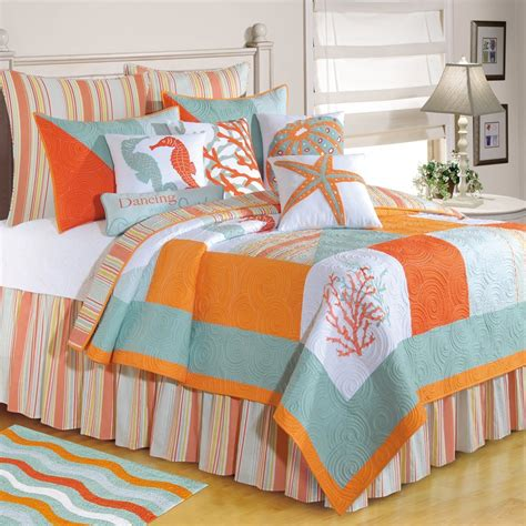coastal quilts and coverlets beach theme bedding on pinterest beach bedding beach