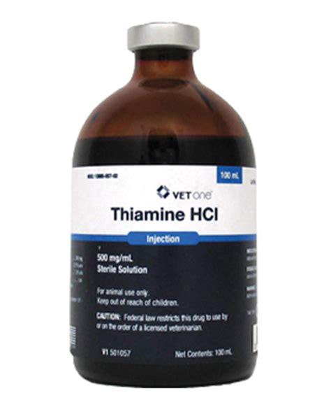 Thamine For Detox by Thiamine Hydrochloride Farmvet