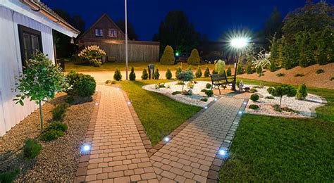 Landscape Up Lights - 1 watt led landscape up light g lux plug amp play landscape lights led landscape spot amp flood