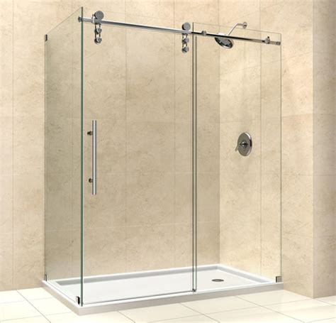 Shower Enclosure by Dreamline Showers Enigma Z Sliding Shower Enclosure