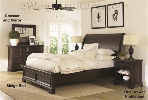 all wood bedroom furniture sets aspenhome bayfield solid wood bed bedroom set