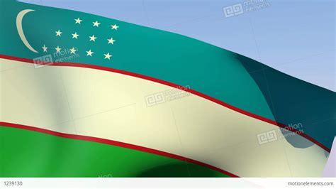 flag of uzbekistan stock image image of symbol places flag of uzbekistan stock animation 1239130