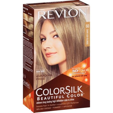 Revlon Hair Color revlon colorsilk beautiful color permanent hair color 3d