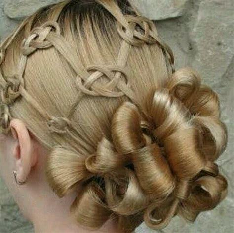knot hair styles celtic knot hair very cool style ideas pinterest