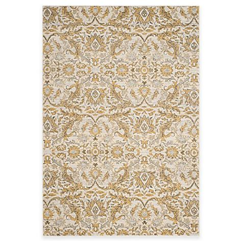9 foot area rugs buy safavieh evoke collection grove 9 foot x 12 foot area rug in ivory gold from bed bath beyond