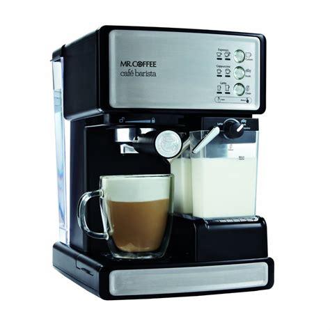 espresso machine wit modern espresso machine with milk frother homesfeed