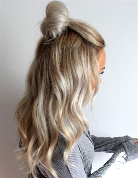 best 25 half hairstyle ideas on 25 best ideas about hair colors on