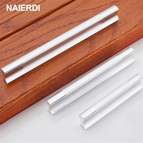 stick on cabinet knobs naierdi pulls kitchen handles aluminum alloy door