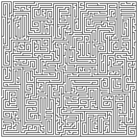 printable maze creator maze maker punch in how big you want it and it generates