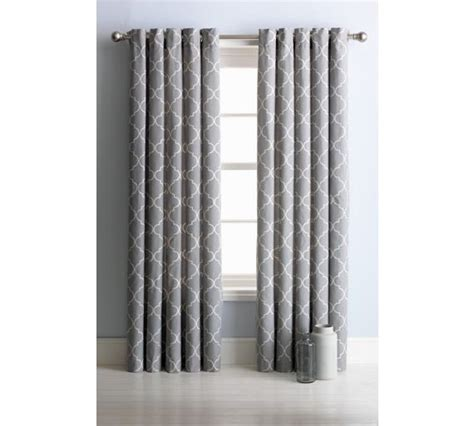 gray bedroom curtains buy collection trellis lined eyelet curtains 117x137cm