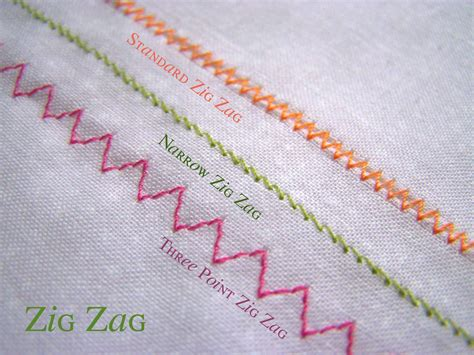 made by me shared with you technique tuesday zig zag stitching