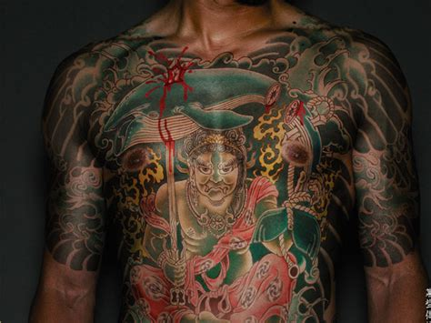 Yakuza Tattoo Full Body | yakuza full body tattoo design busbones