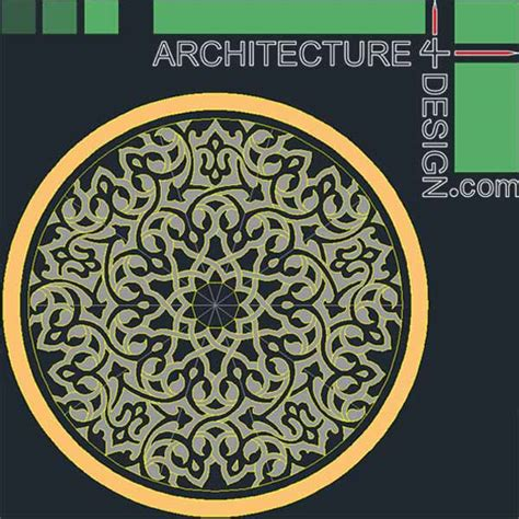 pattern islamic autocad 77 flooring design patterns for autocad dwg file