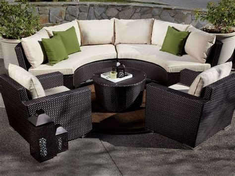 Curved Patio Furniture Set 20 Best Images About Patio Furniture Ideas On Pinterest Curved Sofa Gas Pits And