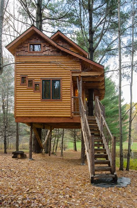 2 Story Country House Plans by Treehouse At Moose Meadow