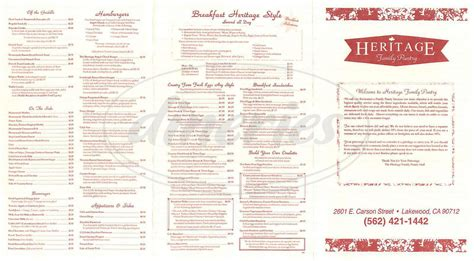 Family Pantry by Heritage Family Pantry Menu Lakewood Dineries