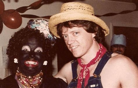 hillary clinton wear blackface   costume party