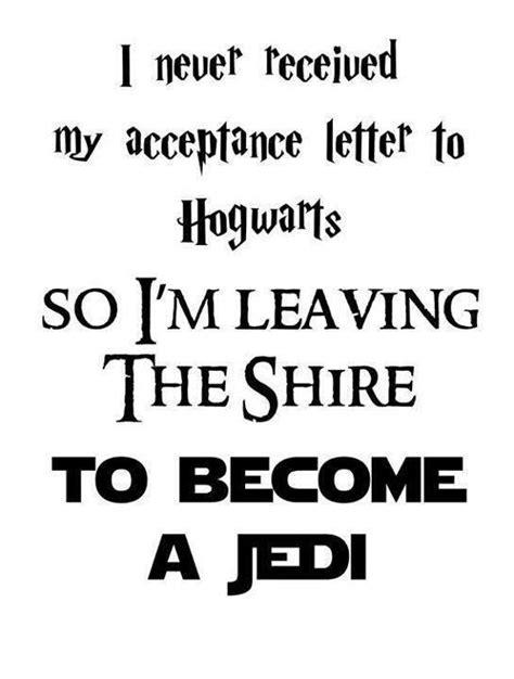 Acceptance Letter Wait I M Still Waiting For My Hogwarts Letter