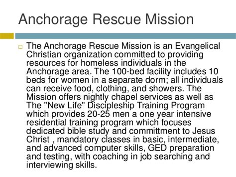 Detox Beds In Anchorage by Anchorage Rescue Mission Serves Community