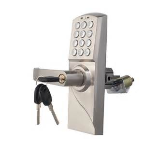 Keypad Door Lock by Digital Electronic Code Card Keyless Keypad Security Entry