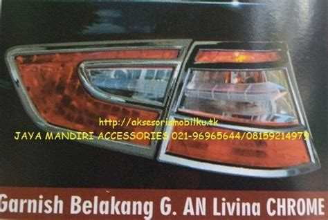Garnis Depan Grand All New Livina 1 grand livina jaya mandiri aksesoris