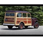 1949 Willys Jeep Station Wagon  Rear And Side 1280x960