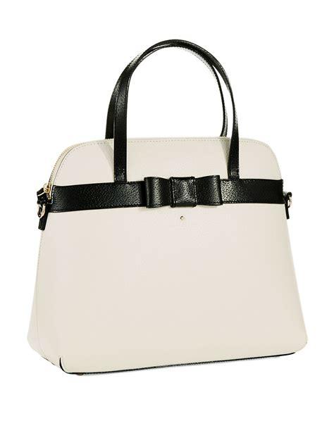 Kate Spade Alma 03956 Semiori kate spade new york kirk park handbag in white lyst