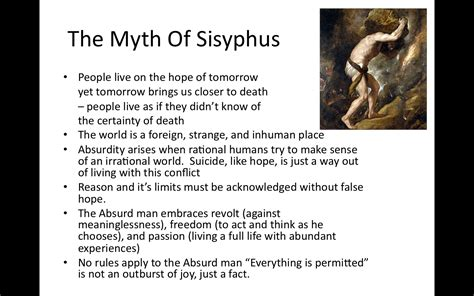 The Myth Of Sisyphus And Other Essays by The Myth Of Sisyphus And Other Essays Sparknotes Docoments Ojazlink