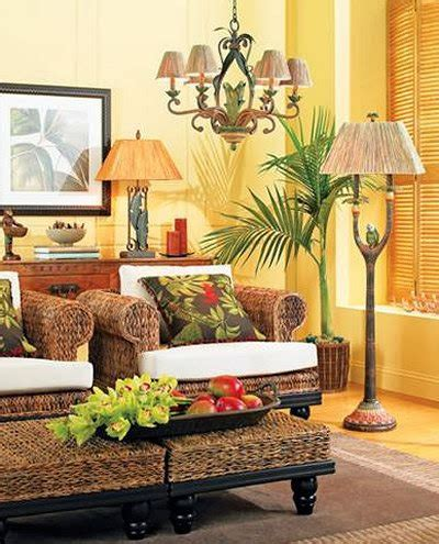tropical themed living room using tropical accessories lestnic eye for design decorating tropical style