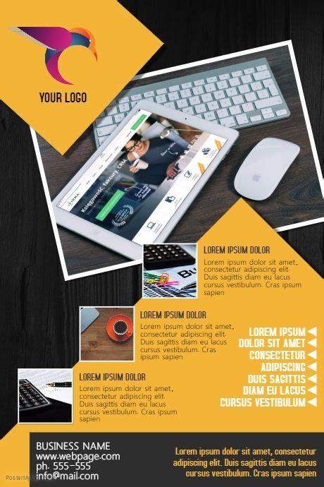 flyer template editor 10 best business flyers images on pinterest business