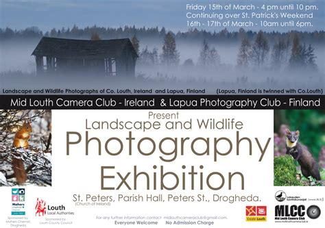 Landscape Photography Exhibition Landscape And Wildlife Photography Exhibition Create Louth