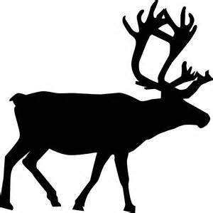 reindeer silhouette template animal silhouette reindeer vector free psd vector icons