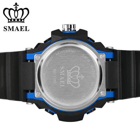 Smael Jam Tangan Digital Luminous smael jam tangan digital luminous 1385 black orange