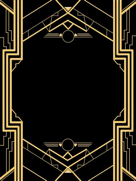 Great Gatsby Invitation Templates Blank Great Gatsby Powerpoint Template