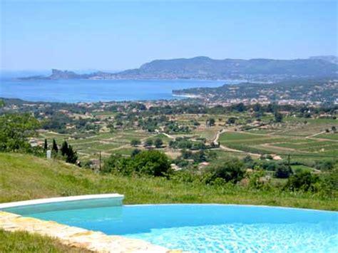 Villa, piscine privée, vue mer panoramique, à La Cadière d'Azur, Var, location de vacances n°562