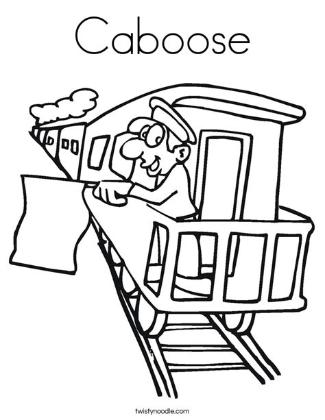 coloring page train caboose caboose coloring page twisty noodle