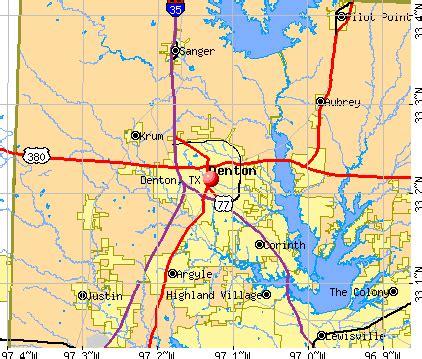Denton Tx To Tx Denton Tx Profile Population Maps Real Estate