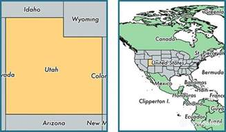 united states map utah where is utah state where is utah located in the world