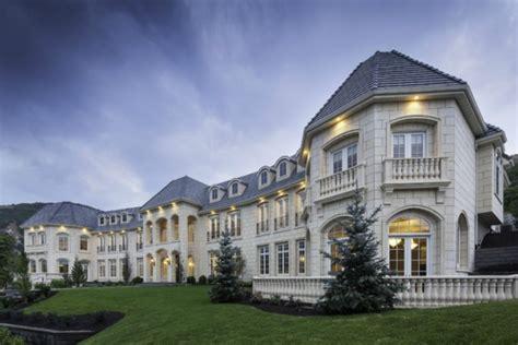 custom mansions custom home exteriors lane myers construction utah