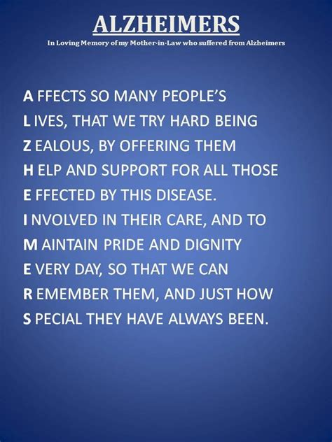 caretakers poem brain cancer awareness 238 best dementia care quotes and poems images on