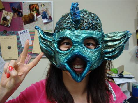 How To Make Paper Mache Masks Step By Step - creating any shape papier m 226 ch 233 mask