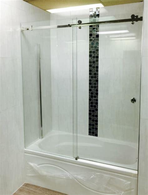 Shower Doors Vancouver Frameless Sliding Glass Shower Door Vancouver Shower Glass Professionals Modern Bathroom