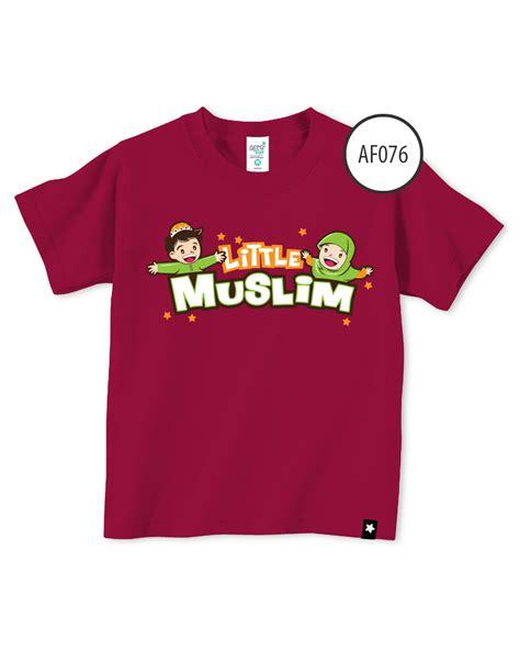 Kaos Dakwah Islami Muslim Lengan Pendek jual kaos anak muslim afrakids lengan pendek muslim