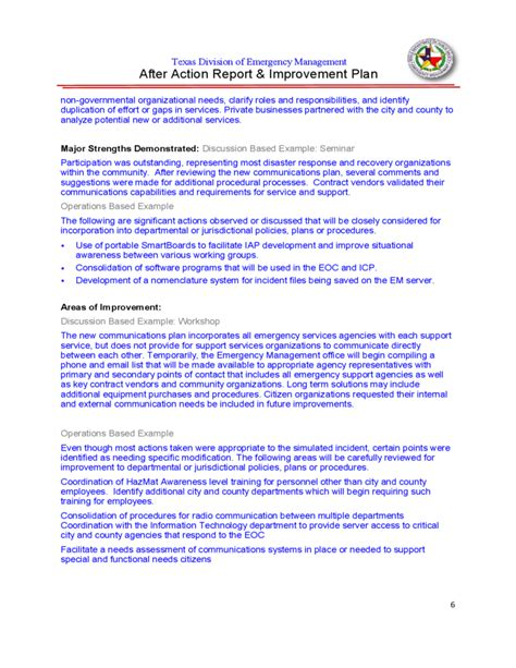business continuity and disaster recovery plan template 12