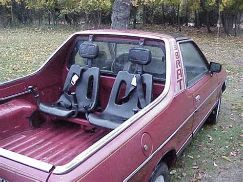 subaru brat interior flashback friday the subaru brat ridinandrollin